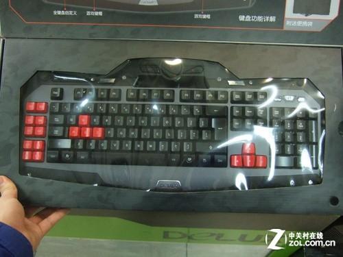 多彩全新旗舰游戏键盘魔霸T15震撼到货