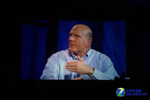 直击微软CEO演讲:Win8将是下个里程碑