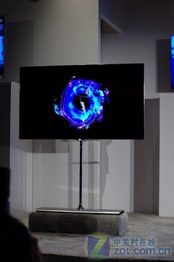 纤薄惊人 LG 55寸OLED电视现场美图速递