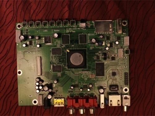 海尔电视le48a5000乙电路板图,