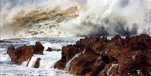 欧洲高清油画海浪