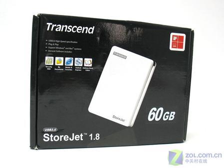 创见 StoreJet 1.8包装盒
