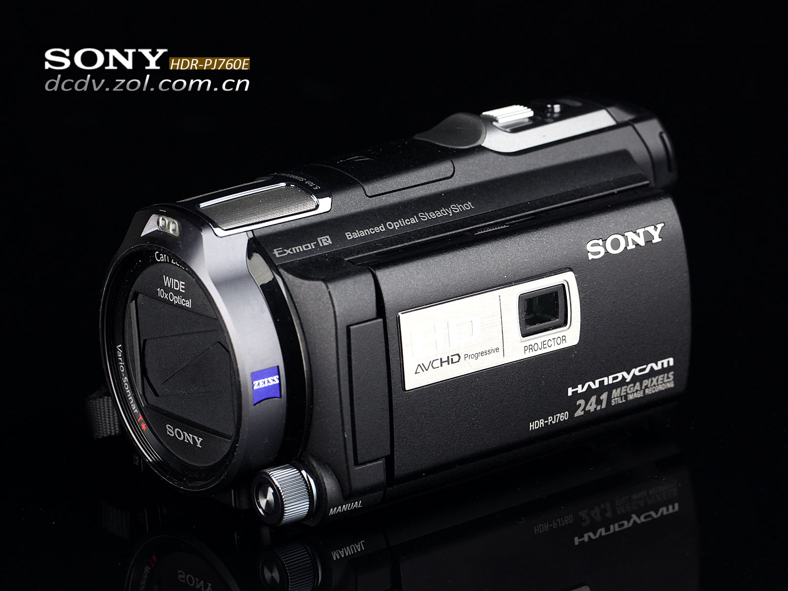 浮动镜头设计 索尼hd-pj760e摄像机图赏
