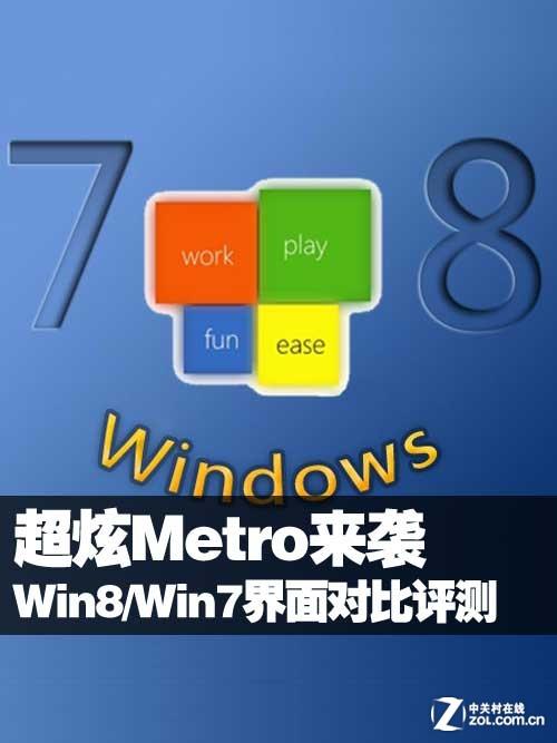 超炫Metro来袭 Win8/Win7界面对比评测