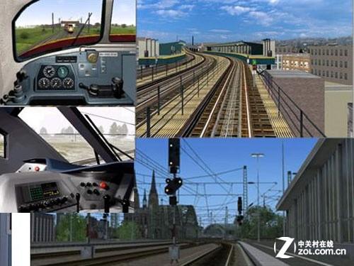 虚拟驾驶舱 轨道交通仿真训练模拟系统