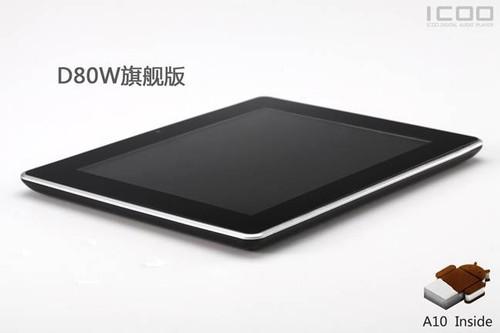 1G内存ICOO发布8寸新品D80W旗舰版