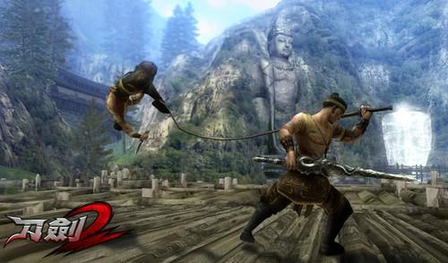 《刀剑2》硬派兵器魅力 国风格斗竞技