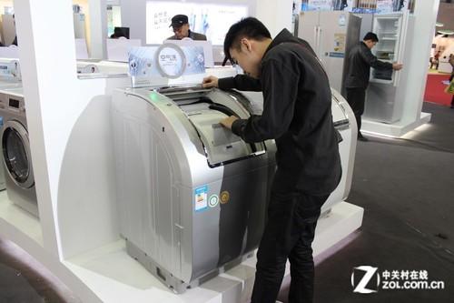 空气洗 13kg大容量 三洋洗衣机亮点多
