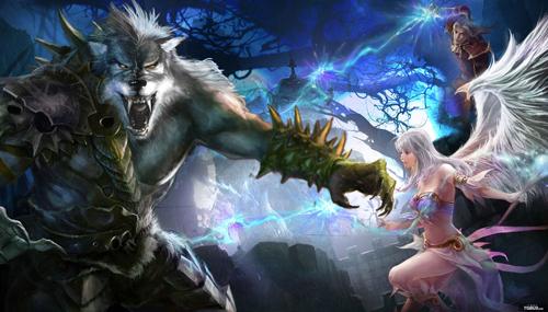 《黑暗帝国》狼人 力量的象征