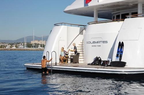 iPad控制游艇 未来新奇创意家电曝光