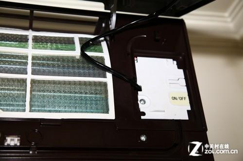 空调led显示屏连接处及应急开关