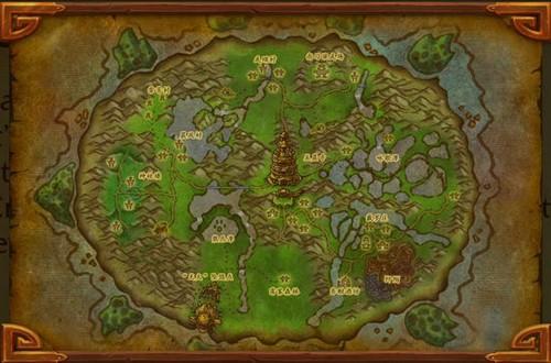 魔兽世界:熊猫人之谜》新地图潘达利亚