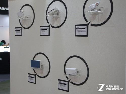 充电产品展示墙