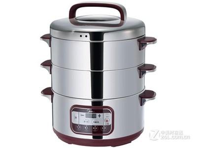 Midea美的SYS28-22多功能三层电蒸锅不锈钢大容量家用特价