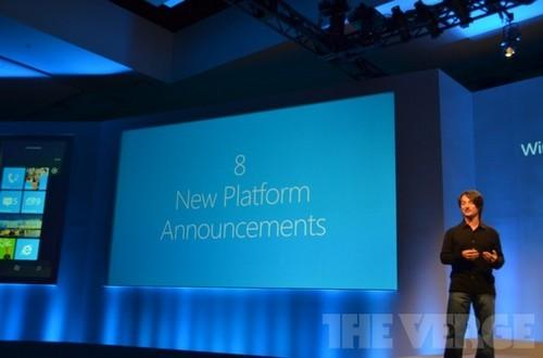 八大全新升级 Windows Phone 8今秋发布