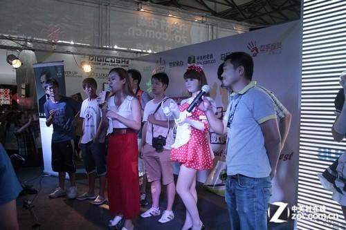 ChinaJoy2012! 铁三角展台游戏新玩法
