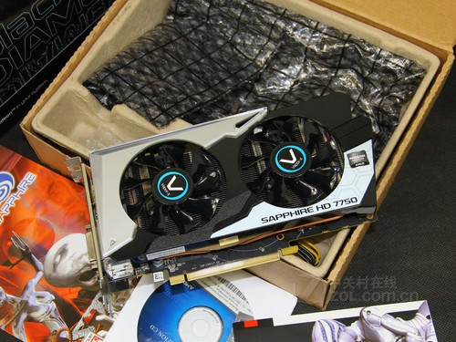 1.1GHz频率 HD7750黑钻京东热销