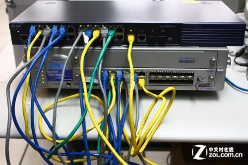 锐捷网络智能交换机实测