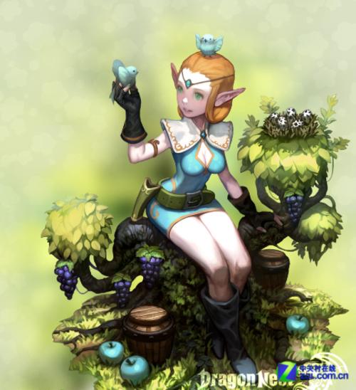 像龙之谷这款游戏中的法师和弓手是女角色