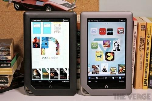 B&N下调Nook Color和Nook Tablet的售价