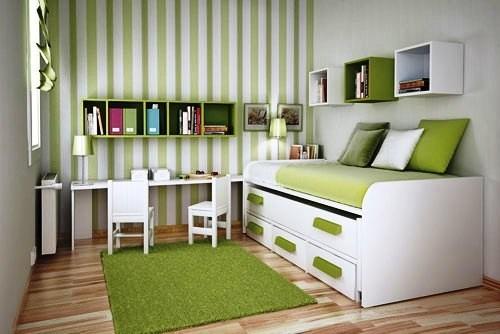 从奢华到简约 20个创意小卧室装修设计