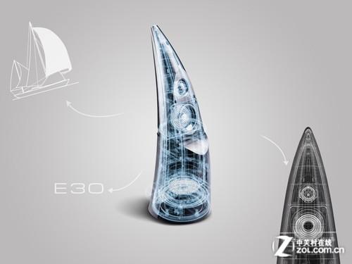 颠覆设计理念 漫步者e30音响全国首测