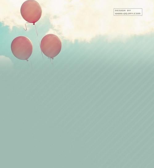气球控qq皮肤 做你幸福的小女人