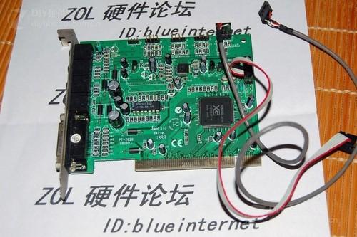 9针的电脑主板接线图