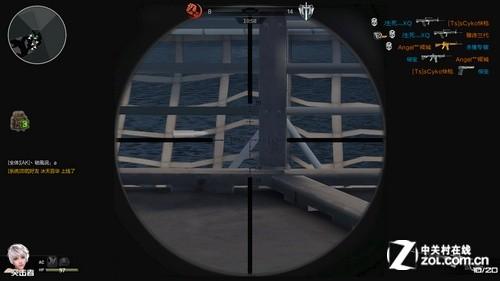 逆战武器大全展示 游戏第一人称视角截图