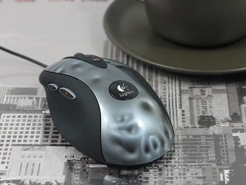 罗技 G400黑色 外观图