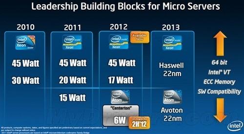 Atom将在第四季度进军微型服务器领域