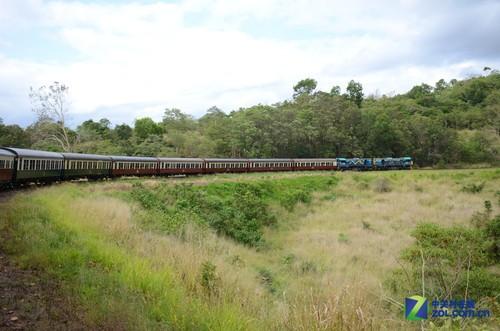 行摄澳洲魅力风景 乘小火车赏沿路风景