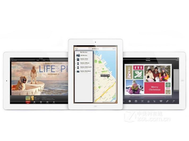 蘋果ipad4白色   外觀圖   外觀圖片   蘋果ipad4白色