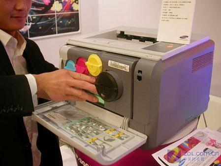 耗材太奇特 三星最小激光打印机上市