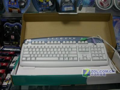 罗技 多媒体键盘