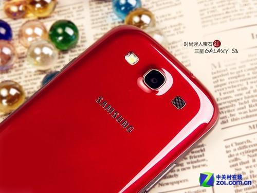 时尚迷人宝石红三星GALAXY S3美图赏析
