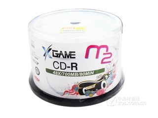 Maxell M2 CD-R 48速 700MB(50片桶装)