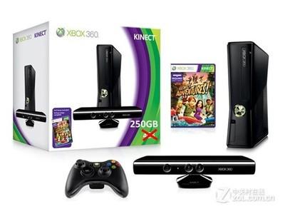 微软 Xbox360 slim Kinect套装(750GB)