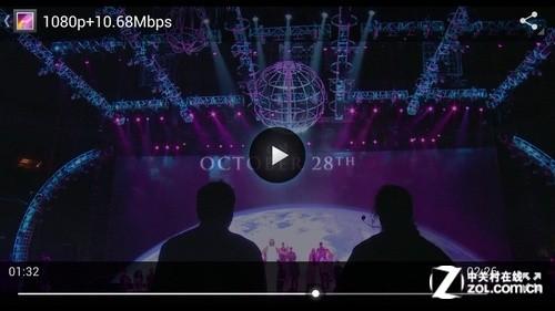 流畅播放1080p ThL W5视频播放专项测试