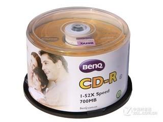 明基经典系列 CD-R 52速 700MB(50片桶装)