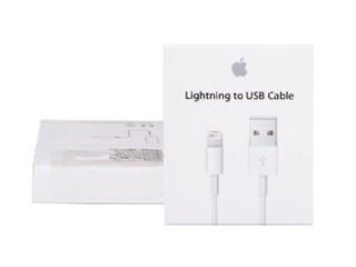 苹果Lightning to USB 连接线