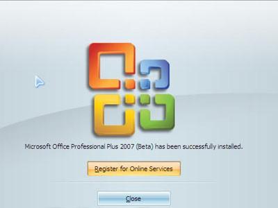 Microsoft office 2007中文专业增强版