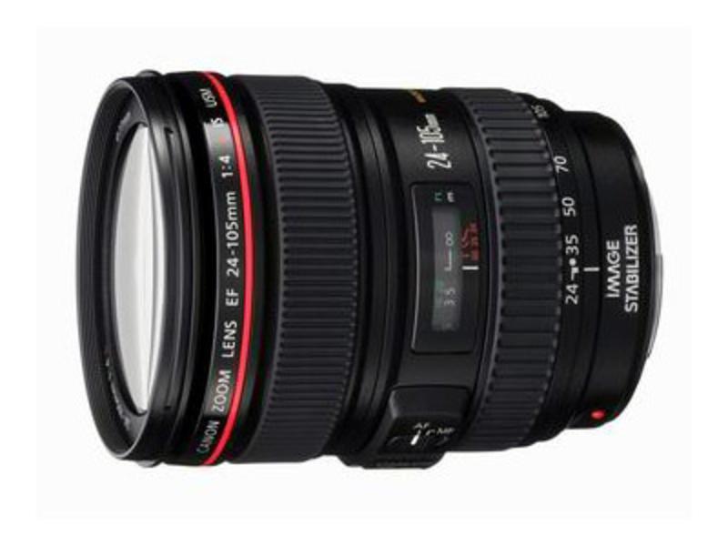 佳能EF 24-105mm f/4L IS USM整体外观图