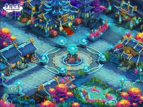 《梦想世界》新版地图 流连忘返的四国风情