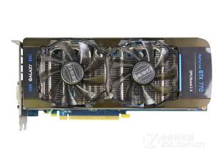影驰GeForce GTX 770四星黑将