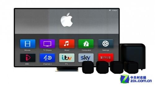 4K超清OLED屏 苹果iTV智能电视大猜想