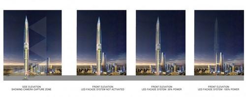 LED幕墙系统 韩将建首幢隐形摩天大楼