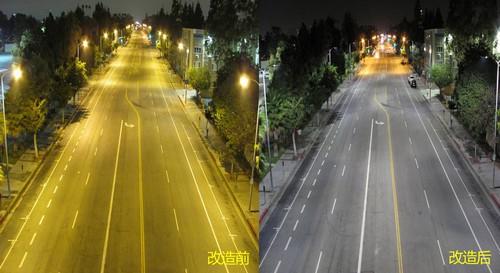 年省千万 最大LED路灯改造洛杉矶完成