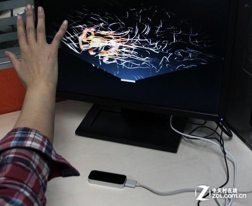 飞舞的指尖 测leap motion体感控制器