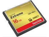 闪迪至尊极速CompactFlash存储卡(16GB)/SDCFXS-016G